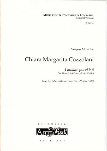 Cozzolani, Chiara Margarita (1602-~1677): Laudate pueri á 6<br>- original version for mixed choir