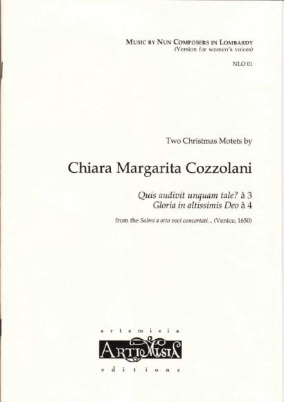 Cozzolani, Chiara Margarita (1602-~1677): Zwei Weihnachtsmotetten<br>- Convent-version