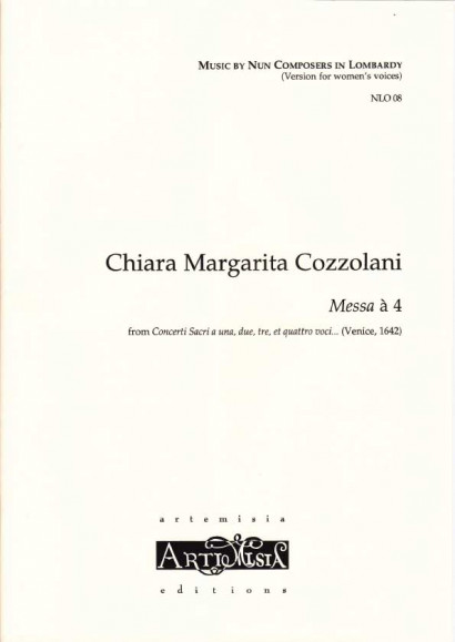 Cozzolani, Chiara Margarita (1602-~1677): Messa à 4<br>- Convent-version