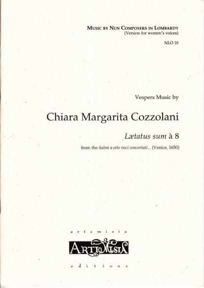 Cozzolani, Chiara Margarita (1602-~1677): Lætatus sum à 8<br>- Convent-version