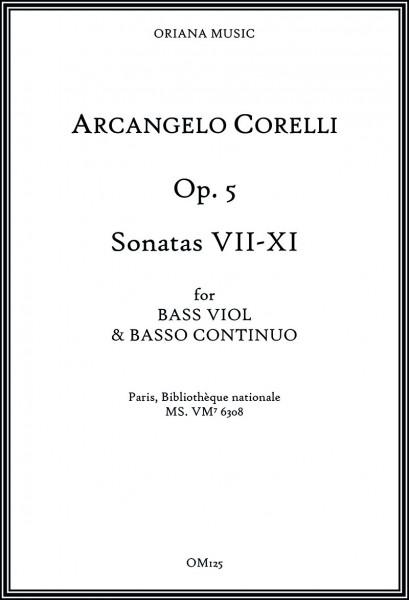 Corelli, Arcangelo (1653–1713):<br>Sonaten op. 5 – Sonaten VII–XI