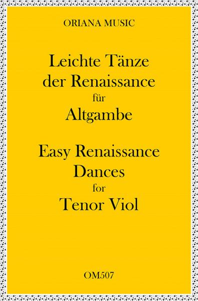 Leichte Tänze der Renaissancefür 2 Altgamben