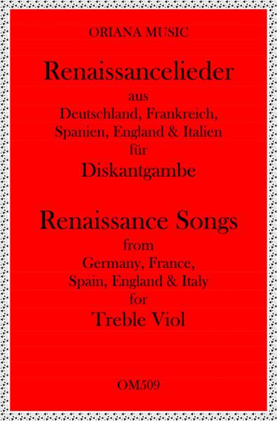 Renaissance-Lieder für 2 Diskantgamben(leicht)