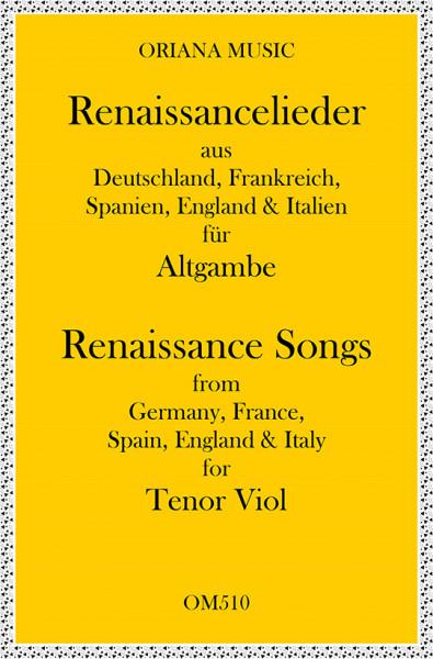 Renaissance-Lieder für 2 Altgamben(leicht)