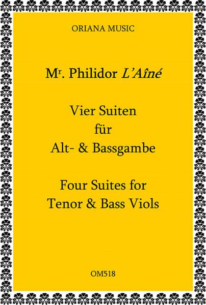Philidor L'Aine, André (~1647–1730): 4 Suiten