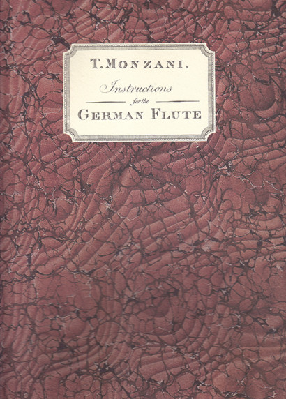 Monzani, Tebaldo (1762–1893):Instruction for the German Flute