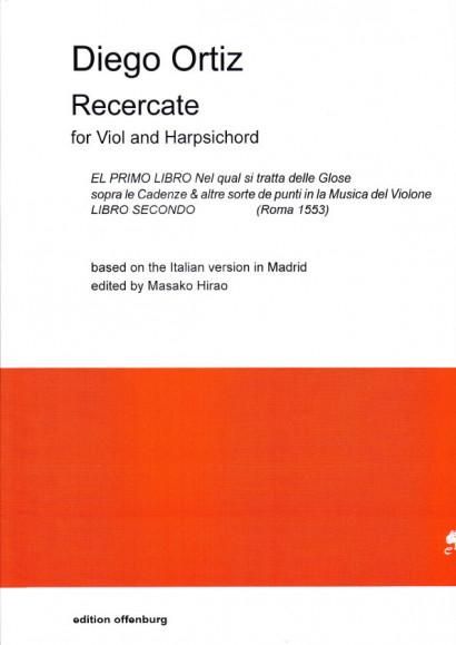 Ortiz, Diego (16. Jh.): Recercate El primo libro Nel qual si tratta delle Glose ... Rom 1553