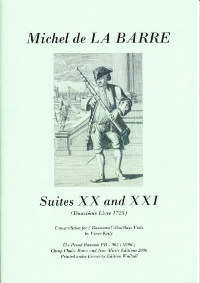 Barre, Michel de la (?1675-1745): - Suites XX & XXI