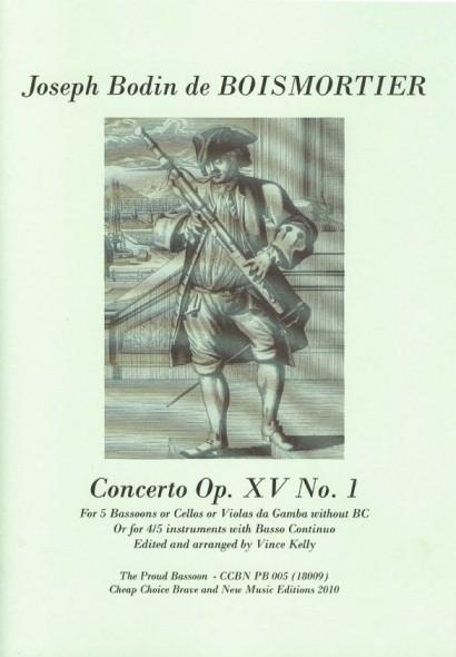 Boismortier, Joseph Bodin de (1689 -1755): Concerto B-Dur op. 15/1