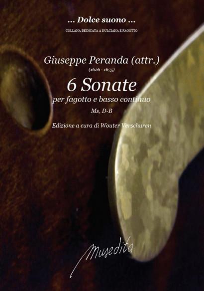 Peranda, Giuseppe (1626– 1675): 6 Sonate