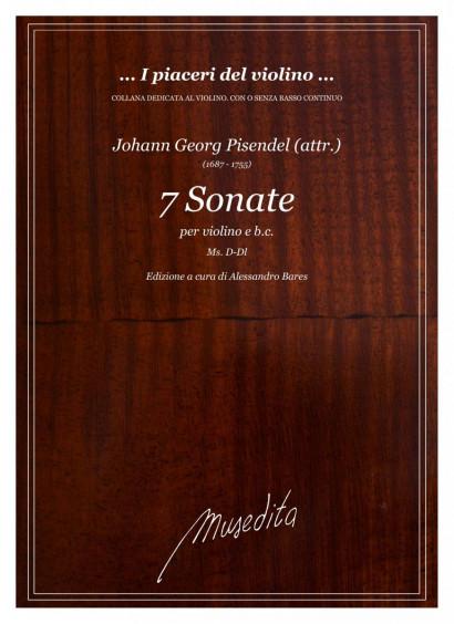 Pisendel (attr.), Johann G. (1687–1755): VII Sonate