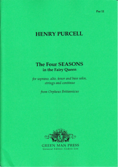 Purcell, Henry (1659-1695): The Four Seasons in the Fairy Queen
