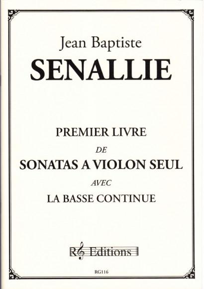Senallie, Jean Baptiste (1688-1730): Premier Livre de Sonates