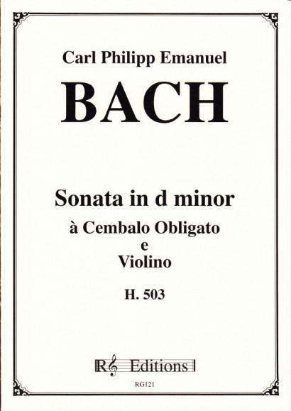 Bach, Carl Philipp Emanuel (1714-1788): Sonate d-Moll, H 503