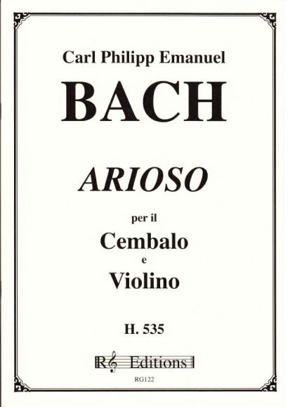 Bach, Carl Philipp Emanuel (1714-1788): Arioso, H 535