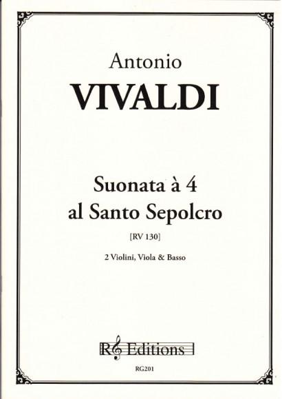 Vivaldi, Antonio (1678-1741): Sonata a 4 al Santo Sepolcro