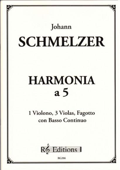 Schmelzer, Johann Heinrich (~1620-1680): Harmonia a 5