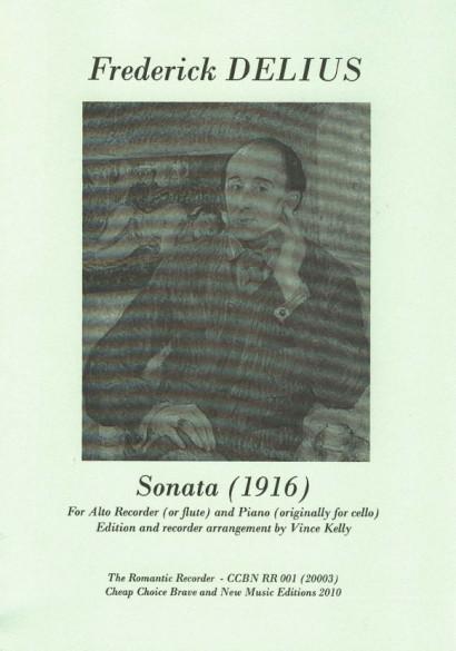 Delius, Frederik (1862-1934): Sonata (1916)