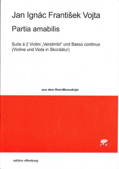 Vojta, Jan Ignác Frantisek (~1600–vor 1725): Partia amabilis