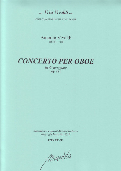 Vivaldi, Antonio (1678–1741): Concerto C Major RV 452