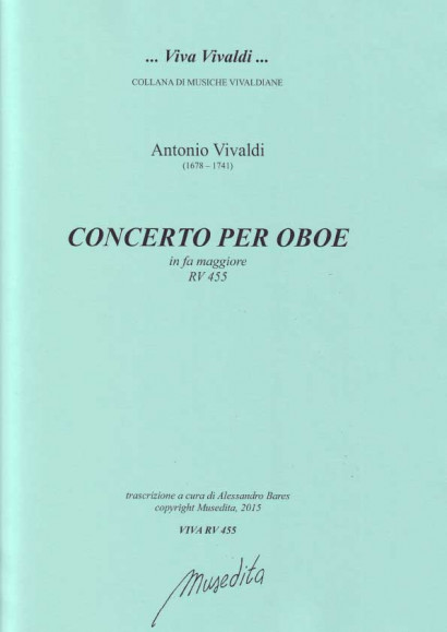 Vivaldi, Antonio (1678–1741): Concerto F Major RV 455