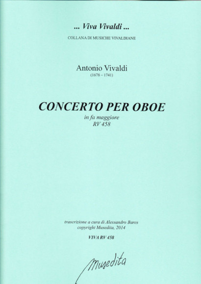 Vivaldi, Antonio (1678–1741): Concerto F Major RV 458