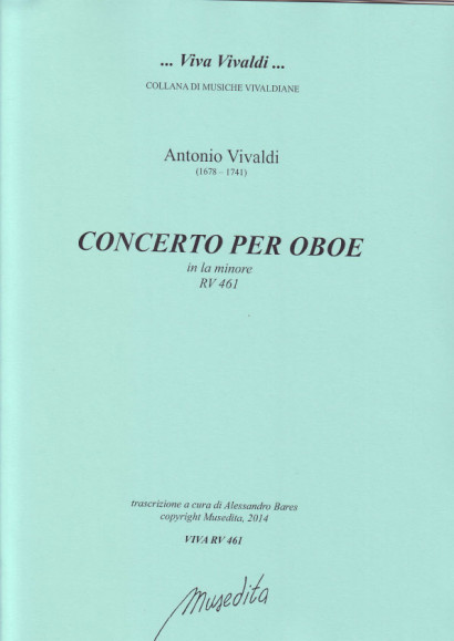 Vivaldi, Antonio: Concerto A-Moll RV 461