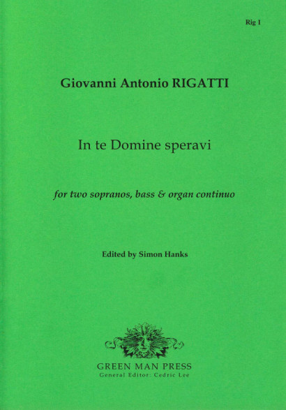 Rigatti, Giovanni Antonio (1615-1649): In te Domine speravi