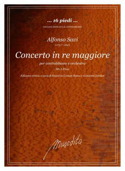 Savi, Alfonso (1773?–1847): Concerto in re maggiore
