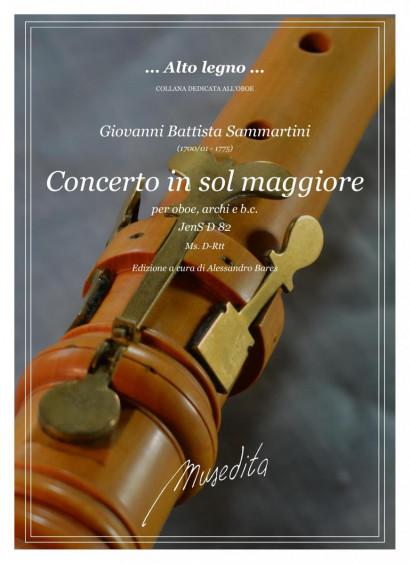 Sammartini, Giovanni Battista (1700/01–1775): Konzert F-Dur