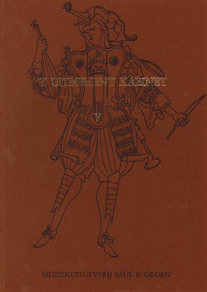 'T Uitnement Kabinet (Amsterdam 1646, 1649): 32 Courantes and Branles für Melodieinstrument und Basso – V