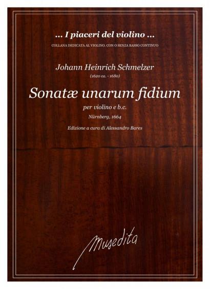 Schmelzer, Johann H. (~1620–1680): Sonatae unarum fidium