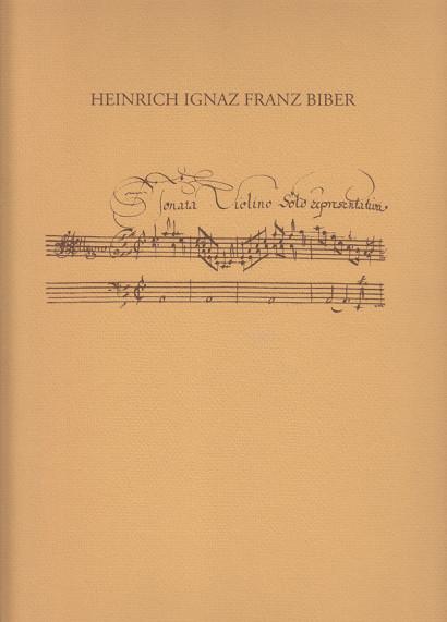 Biber, Heinrich Ignaz Franz (1644–1704): Sonata Violino Solo Representativa