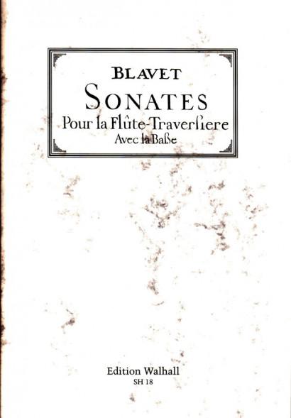 Blavet, Michel (1700–1768): 12 Sonates op. 2 & 3