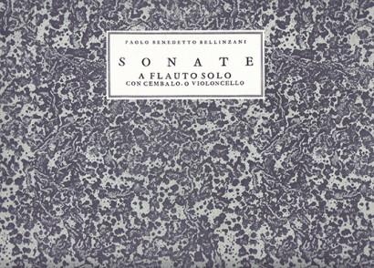 Bellinzani, Paolo Benedetto (~1690 –1757): Sonate op. 3