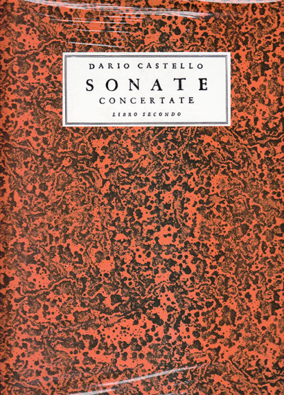 Castello, Dario: Sonate concertate Libro Secondo