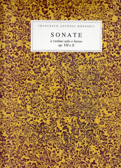 Bonporti, Francesco A. (1672–1748): Sonate op. 7 – Invenzioni op. 10