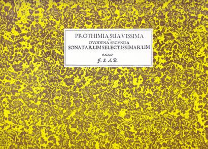 Bertali, Antonio (1605–1669):Prothimia Suavissima