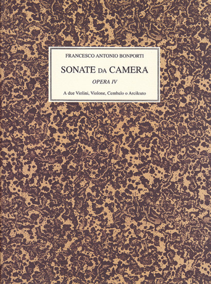 Bonporti, Francesco A. (1672–1748): Sonate da Camera op. 4