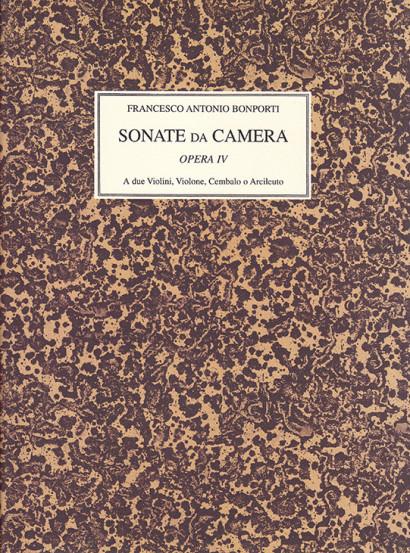 Bonporti, Francesco A. (1672–1748): Sonate da Camera op. 4