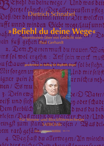 """Schnabel, Dietrich (*1968): """"Befiehl du deine Wege"""""""