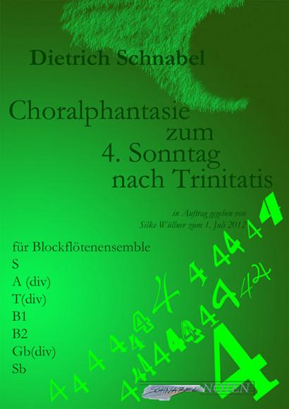Schnabel, Dietrich (*1968): Choralpartita zum 4. Sonntag nach Trinitatis