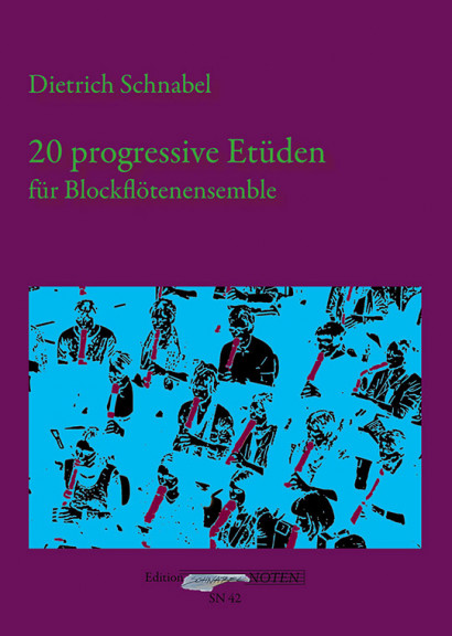 Schnabel, Dietrich (*1968): 20 progressive Etüden