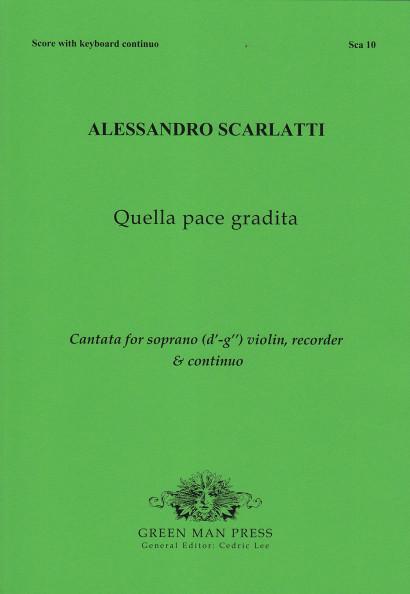 Scarlatti, Alessandro (1660–1725):Quella pace gradita