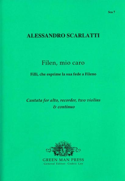 Scarlatti, Alessandro (1660-1725):Filen, mio caro