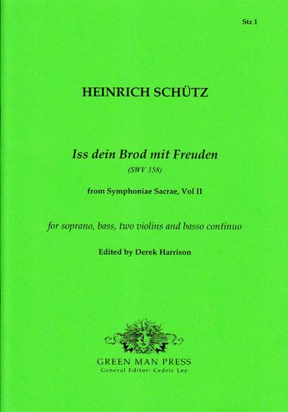Schütz, Heinrich (1585-1672): Iss dein Brod mit Freuden