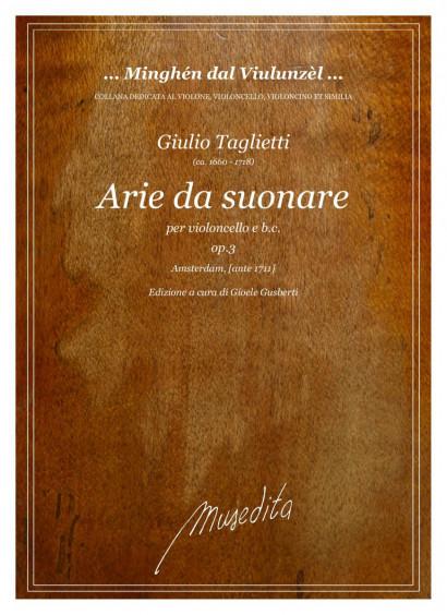 Taglietti, Giulio (~1660–1718):<br>30 Arie da suonare op. 3