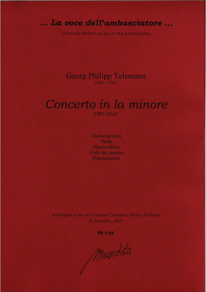 Telemann, Georg Philipp (1681–1767): Concerto a Minor
