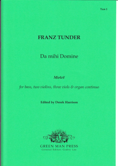 Tunder, Franz (1614-1667): Da mihi Domine
