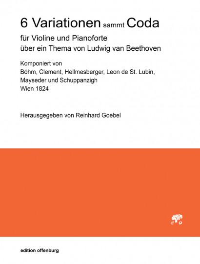 6 Variationen mit Coda über ein Thema von Ludwig van Beethoven